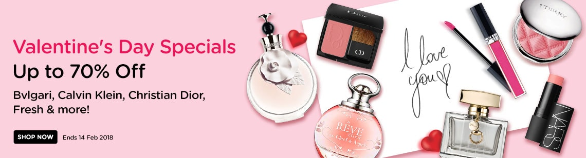 valentine's day specials valentino van cleef & arpel perfume christian dior blush nars multiple dior lipgloss
