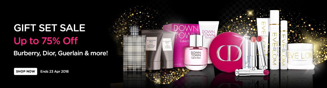 bonus pack gift sets sale burberry perfume coffret calvin klein down town christian dior dior addict eve lom