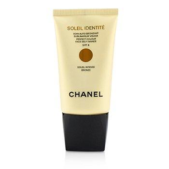 Chanel Soleil Identite Perfect Colour Face Self Tanner SPF 8 - Intense (Bronze)  50ml/1.7oz