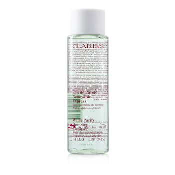 Clarins Water Purify One Step Cleanser w/ Mint Essential Water (For Combination or Oily Skin)  200ml/6.8oz