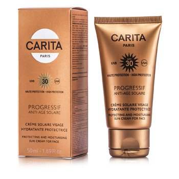 Carita Progressif Anti-Age Solaire Protecting & Moisturizing Sun Cream for Face SPF 30  50ml/1.69oz