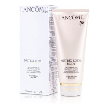 Lancome Nutrix Royal Body Intense Restoring Lipid-Enriched Lotion (For Dry Skin)  200ml/6.7oz