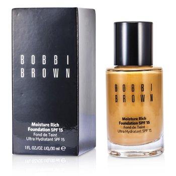 Bobbi Brown Moisture Rich Foundation SPF15 - #4 Natural  30ml/1oz