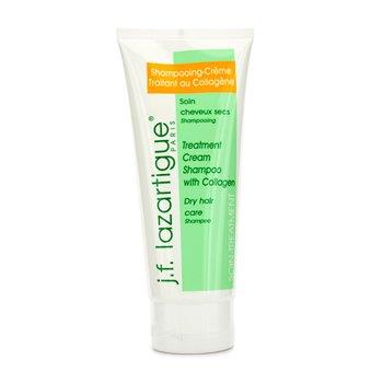 J. F. Lazartigue Treatment Cream Shampoo With Collagen  200ml/6.8oz
