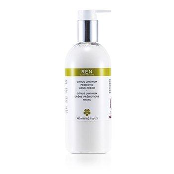 Ren Citrus Limonum Prebiotic Hand Cream  300ml/10.2oz