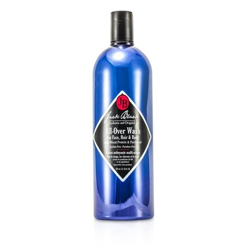 Jack Black All Over Wash for Face, Hair & Body  975ml/33oz