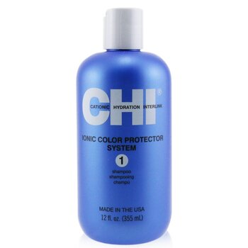 CHI Ionic Colour Protector System 1 Shampoo  350ml/12oz