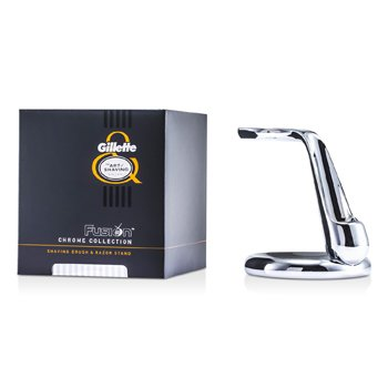 The Art Of Shaving Fusion Chrome Collection For Shaving Brush & Razor Stand  1pc