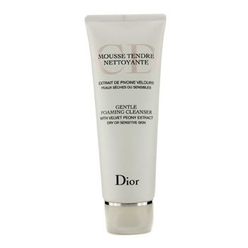 Christian Dior Gentle Foaming Cleanser (For Dry/ Sensitive Skin)  125ml/4.2oz
