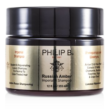 Philip B Russian Amber Imperial Shampoo (For Normal to Color-Treated Hair)  355ml/12oz