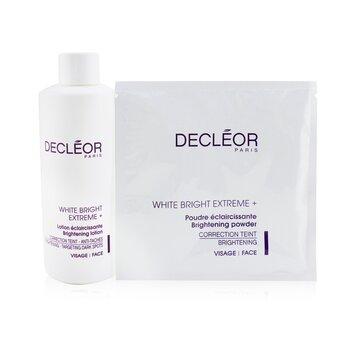 Decleor White Bright Extreme Set (Salon Size): Brightening Lotion + 5x Brightening Powder  6pcs