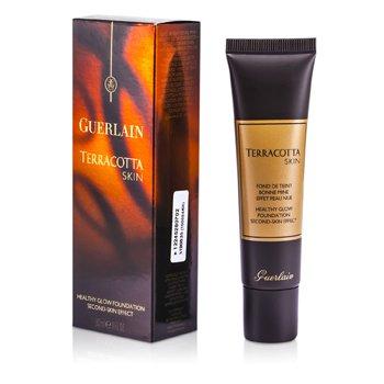 Guerlain Terracotta Skin Healthy Glow Foundation - # 02 Brunettes  30ml/1oz