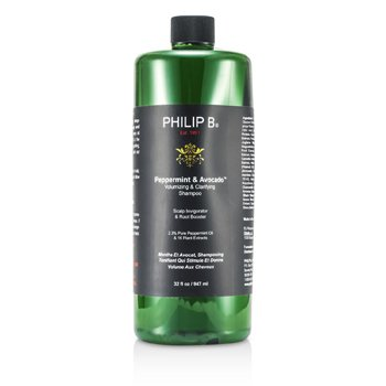 Philip B Peppermint & Avocado Volumizing & Clarifying Shampoo  947ml/32oz