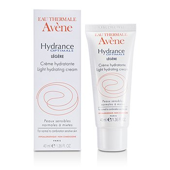 Avene Hydrance Optimale Light Hydrating Cream - For Normal To Combination Sensitive Skin  40ml/1.35oz