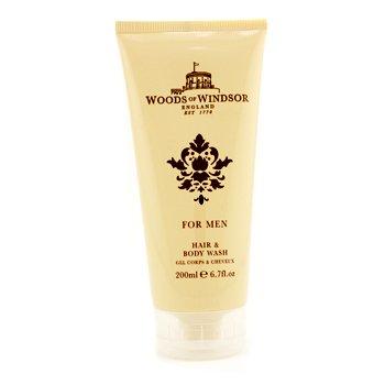 Woods Of Windsor Hair & Body Wash  200ml/6.7oz