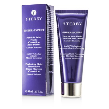 By Terry Sheer Expert Perfecting Fluid Foundation - # 12 Warm Copper  35ml/1.17oz