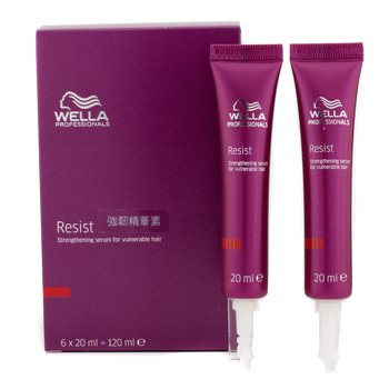 Wella Resist Strengthening Serum (For Vulnerable Hair)  6x20ml/0.67oz