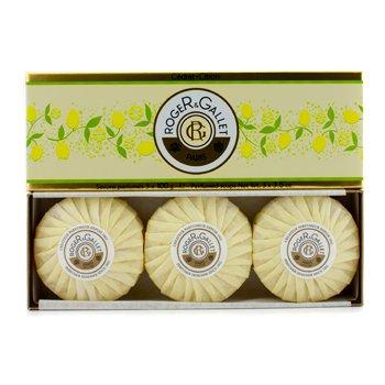 Roger & Gallet Cedrat (Citron) Perfumed Soap Coffret  3x100g/3.5oz