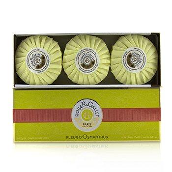 Fleur d' Osmanthus Perfumed Soap Coffret  3x100g/3.5oz