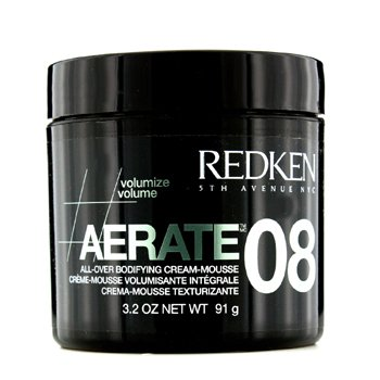 Styling Aerate 08 All-Over Bodifying Cream-Mousse  91g/3.2oz