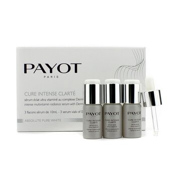 Payot Absolute Pure White Intense Multivitamin Radiance Serum  3x10ml/0.34oz