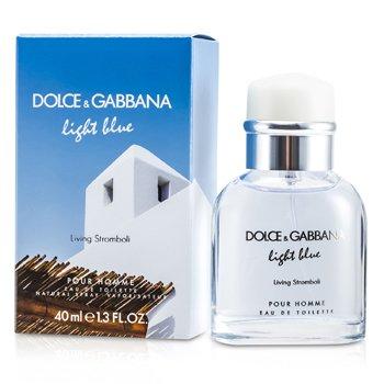 Dolce & Gabbana Light Blue Living In Stromboli Eau De Toilette Spray  40ml/1.3oz