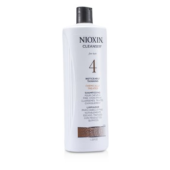System 4 Cleanser For Fine Hair, Chemically Treated, Noticeably Thinning Hair  1000ml/33.8oz