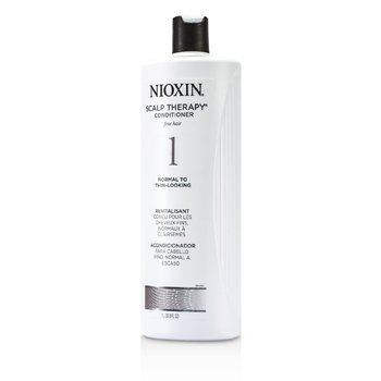 System 1 Scalp Therapy Conditioner For Fine Hair, Normal to Thin-Looking Hair  1000ml/33.8oz