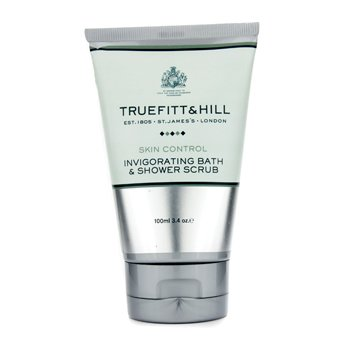 Truefitt & Hill Skin Control Invigorating Bath & Shower Scrub (Travel Tube)  100ml/3.4oz