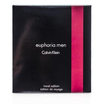 Calvin Klein Euphoria Travel Edition Coffret: Eau De Toilette Spray 100ml/3.4oz + Deodorant Stick 75g/2.6oz  2pcs