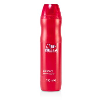 Wella Brilliance Shampoo (For Color-Treated Hair)  250ml/8.4oz