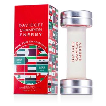 Davidoff Champion Energy Eau De Toilette Spray (Middle East Edition)  90ml/3oz