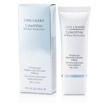 Estee Lauder Cyber White Brilliant Perfection Full Spectrum Brightening Gel Creme Makeup SPF 21 - # 05 Cool Creme  30ml/1oz