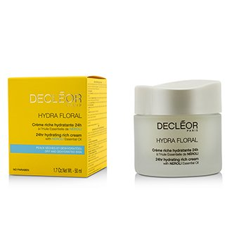 Decleor Hydra Floral 24hr Hydrating Rich Cream  50ml/1.69oz