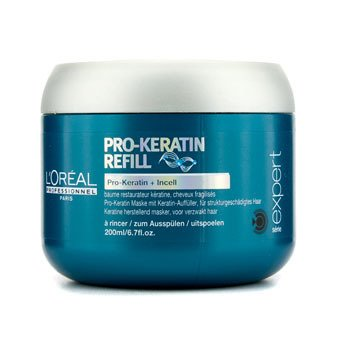 Professionnel Expert Serie - Pro-Keratin Refill Correcting Care Masque (For Damaged Hair)  200ml/6.7oz