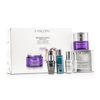 Lancome Renergie Yeux Multi-Lift Set: Eye Cream 15ml + Youth Activator 7ml + Skin Corrector 7ml + Light- Pearl 5ml  4pcs