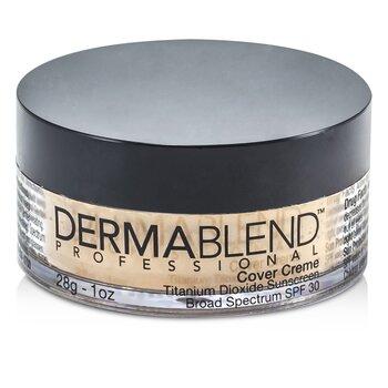 Dermablend Cover Creme Broad Spectrum SPF 30 (High Color Coverage) - Caramel Beige  28g/1oz