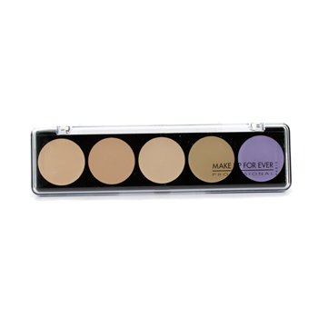 Make Up For Ever 5 Camouflage Cream Palette - #2 (Asian Complexions)  10g/0.35oz