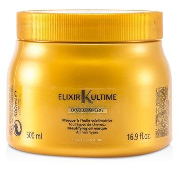 Kerastase Elixir Ultime Oleo-Complexe Beautifying Oil Masque (For All Hair Types)  500ml/16.9oz