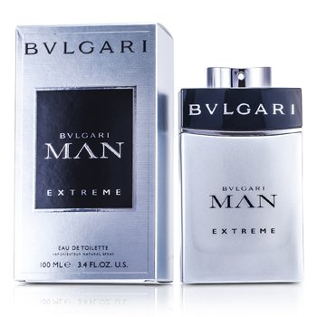 Bvlgari Man Extreme Eau De Toilette Spray  100ml/3.4oz