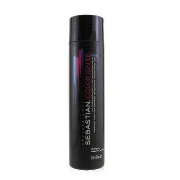 Sebastian Color Ignite Multi Color Protection Shampoo (For Multi-Tonal and Lightened Hair)  250ml/8.5oz
