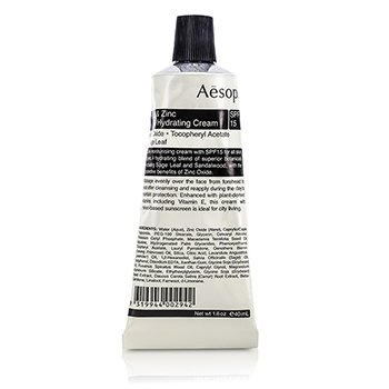 Aesop Sage & Zinc Facial Hydrating Cream SPF15  40ml/1.63oz