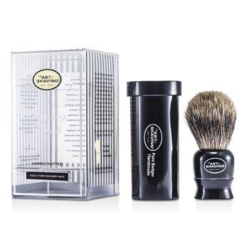 The Art Of Shaving Travel Pure Badger - Black  1pc