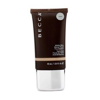 Becca Matte Skin Shine Proof Foundation - # Olive  40ml/1.35oz