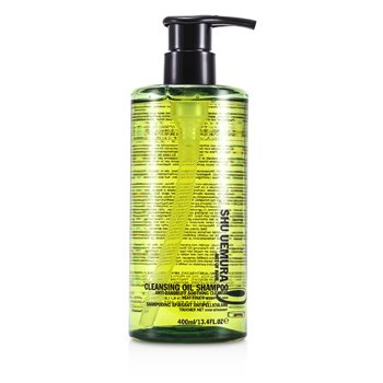 Shu Uemura Cleansing Oil Shampoo Anti-Dandruff Soothing Cleanser (For Dandruff Prone Hair & Scalps)  400ml/13.4oz