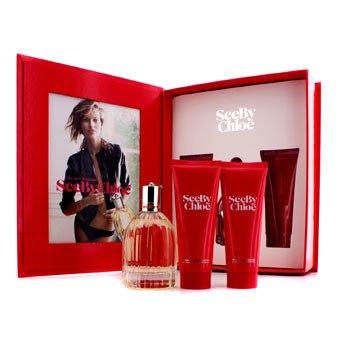Chloe See By Chloe Coffret: Eau De Parfum Spray 75ml/2.5oz + Body Lotion 75ml/2.5oz + Shower Gel 75ml/2.5oz  3pcs