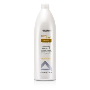 AlfaParf Semi Di Lino Diamond Illuminating Conditioner (For Normal Hair)  1000ml/33.81oz