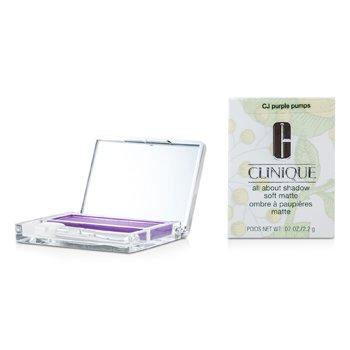 Clinique All About Shadow - # CJ Purple Pumps (Soft Matte)  2.2g/0.07oz