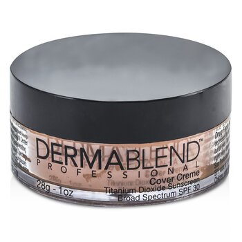 Dermablend Cover Creme Broad Spectrum SPF 30 (High Color Coverage) - Golden Brown  28g/1oz