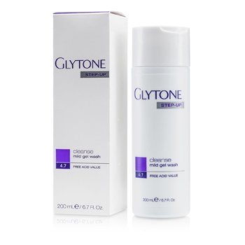 Glytone Step-Up Cleanse Mild Gel Wash  200ml/6.7oz